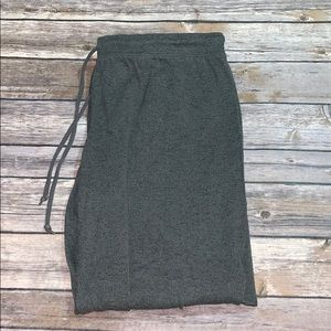 Greenish grey super soft joggers